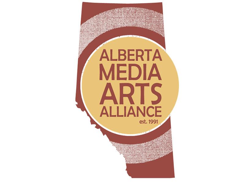 Alberta Media Arts Alliance Society logo