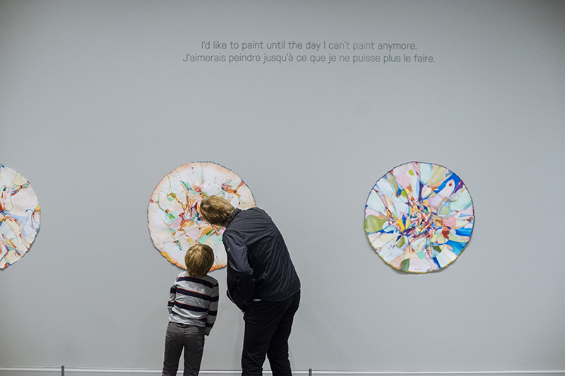 Alex Janvier: Modern Indigenous Master on display at Glenbow