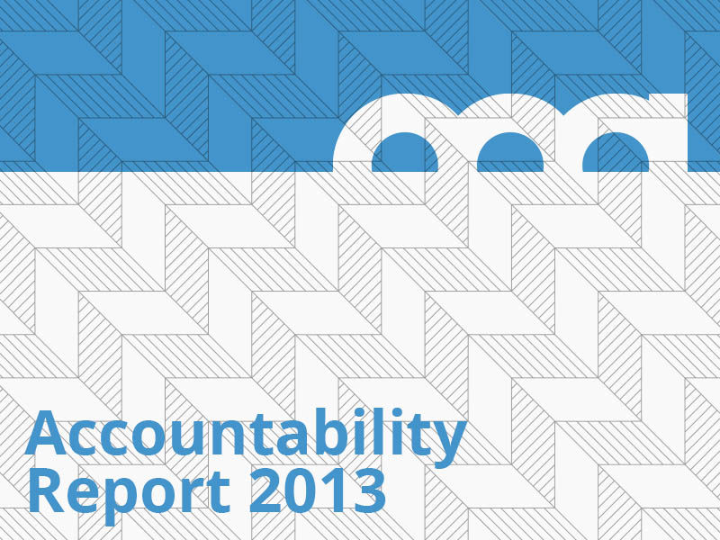 Accountability Report 2013 graphic