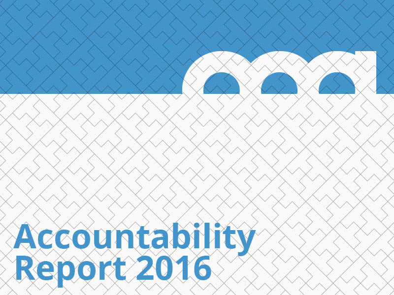 Accountability Report 2016 graphic