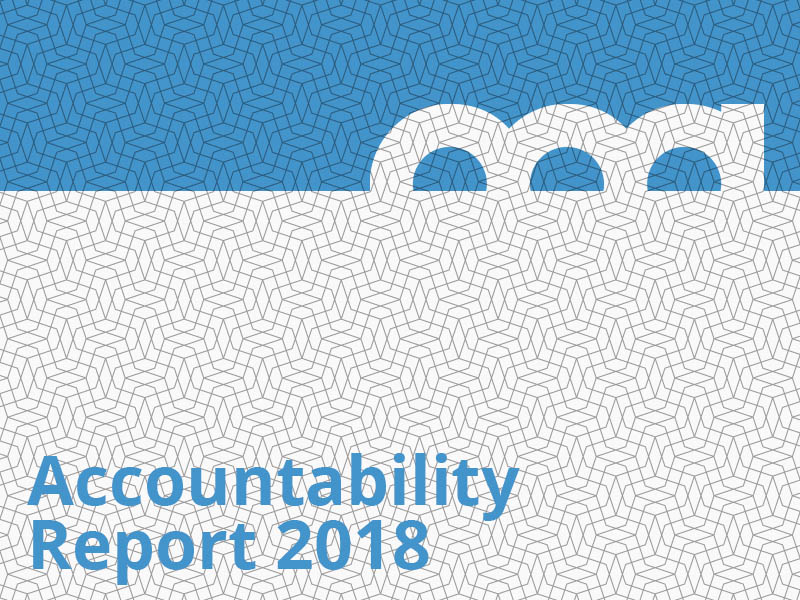 Accountability Report 2018 graphic