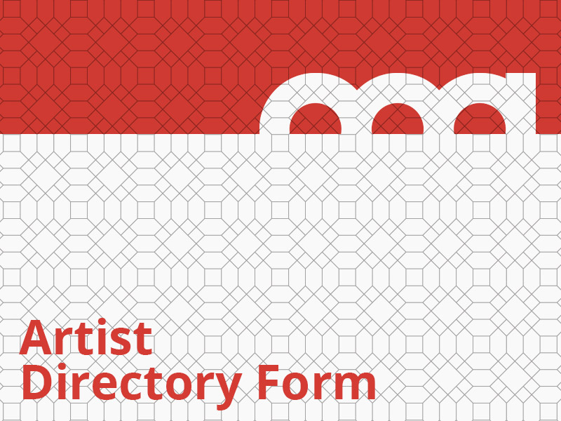 Artist Directory Form graphic