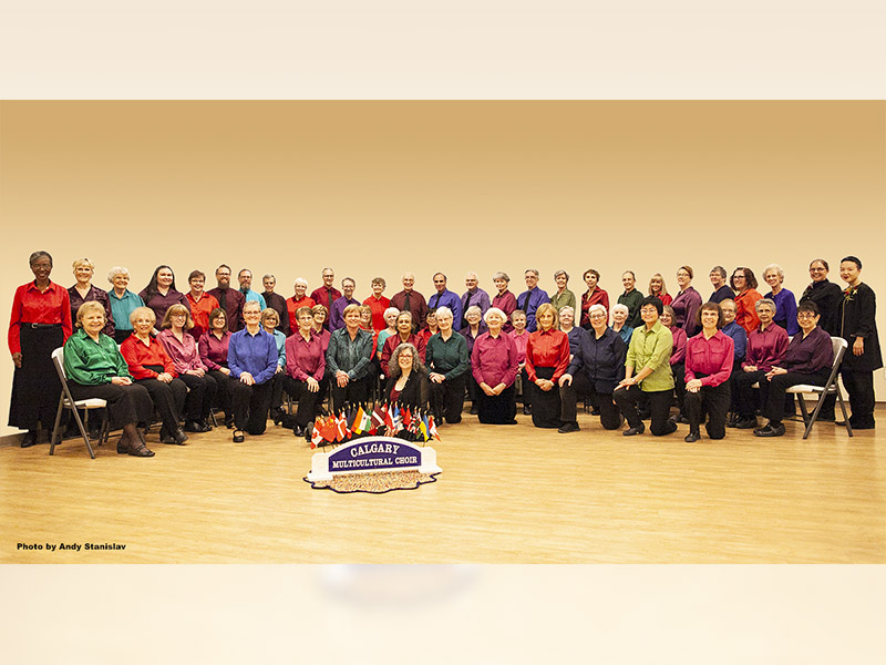 Calgary Multicultural Choir members