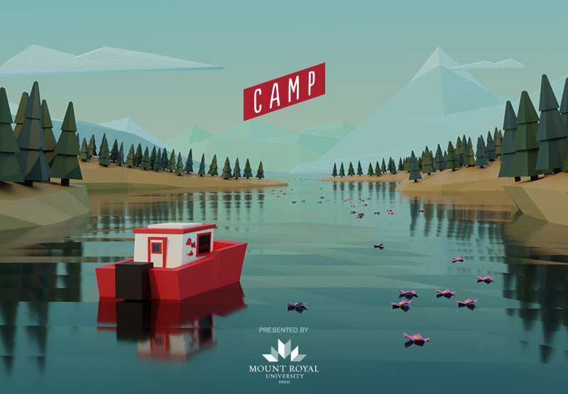 A graphic promoting Camp 2019