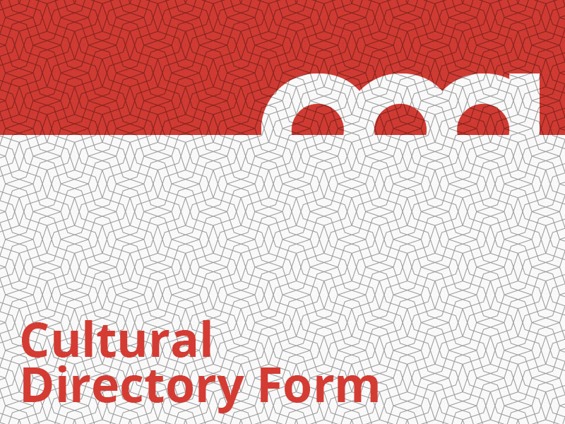Cultural Directory Form graphic