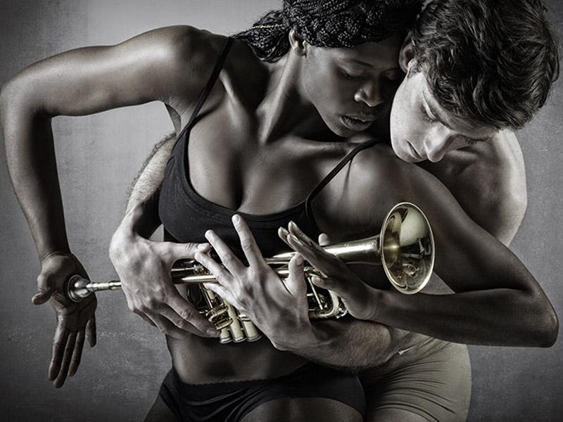 A promo image for Decidedly Jazz Danceworks
