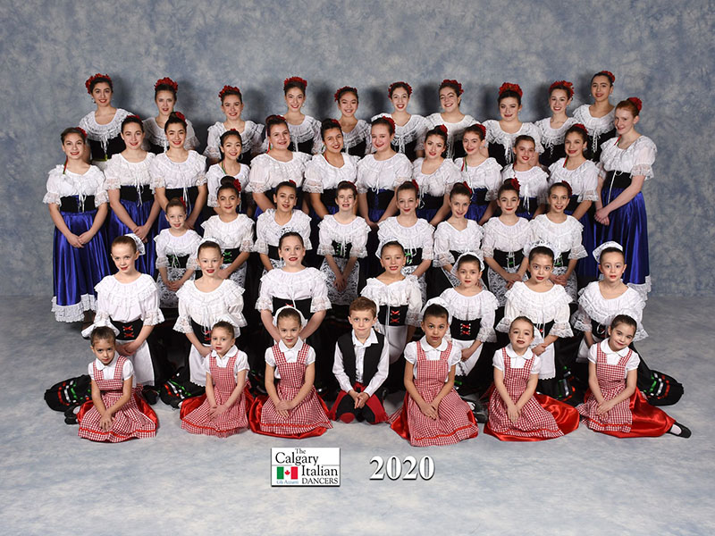 A photo of Gli Azzurri's 2020 group