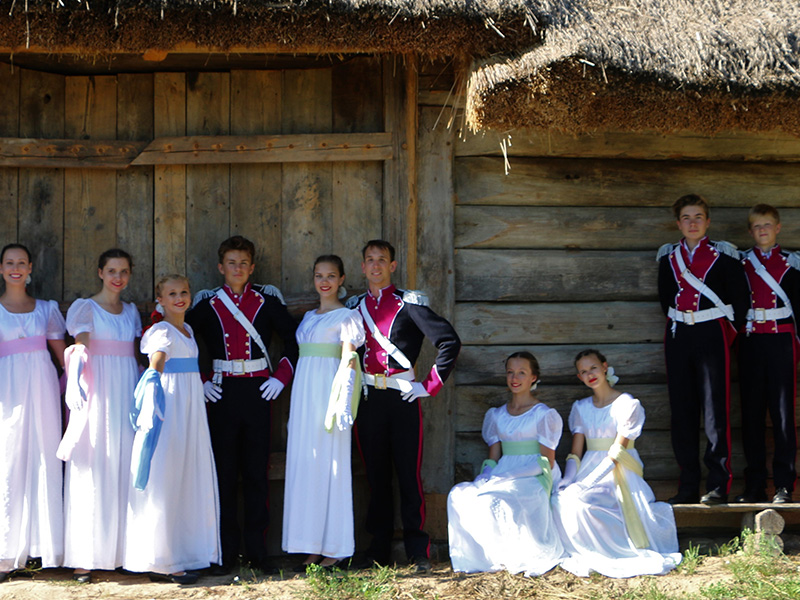 Mazovia Polish Song and Dance Association performers