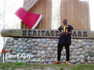 Lanre Ajayi at Heritage Park