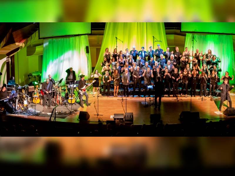Revv52 music ensemble performing live
