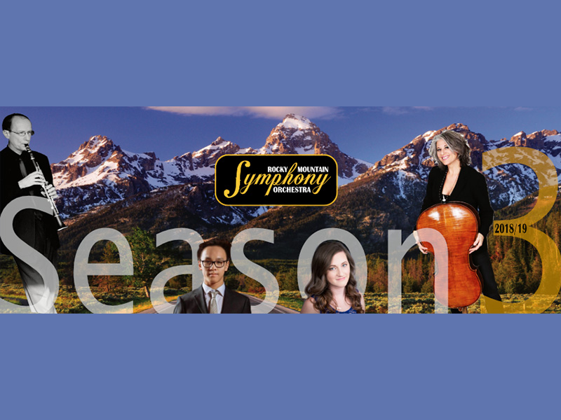 A promo image for Rocky Mountain Symphony Orchestra