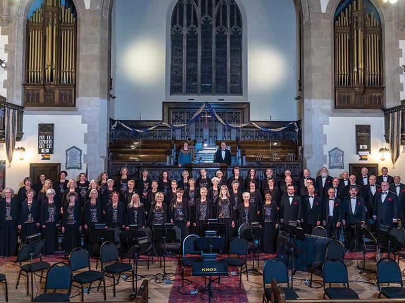 Members of The Festival Chorus