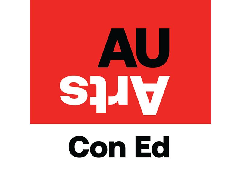 AU Arts Continuing Educationl ogo
