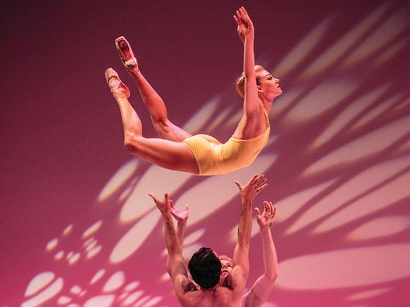 Dancers in Alberta Ballet Unleashed