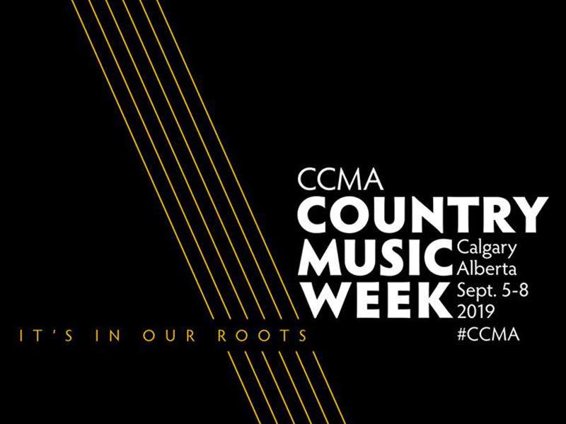 Branding for CCMA Country Music Week – September 5 –8, 2019