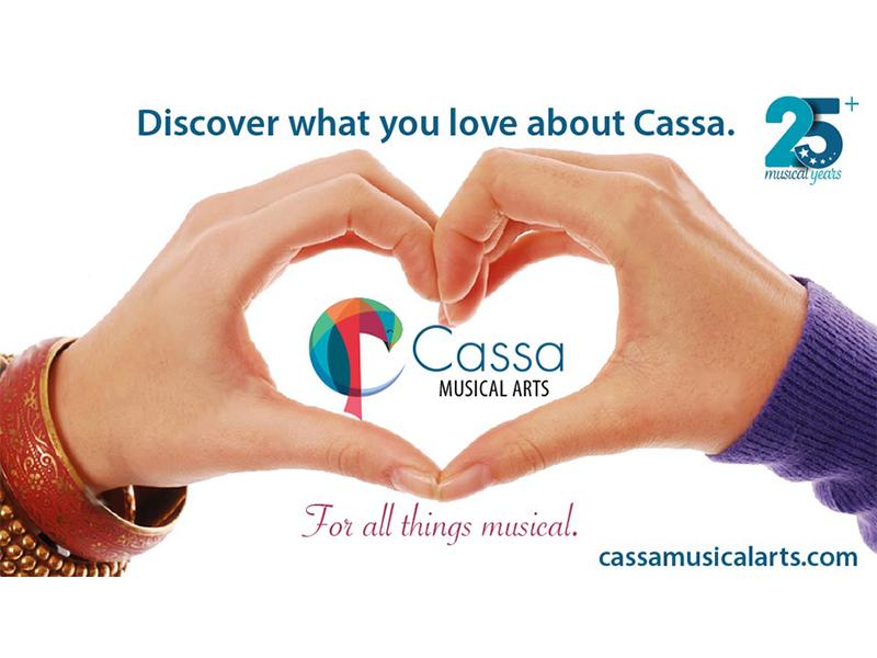 Cassa Musical Arts branding and logo