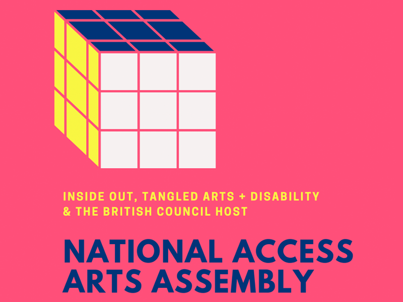 A graphic for the National Access Arts Assembly