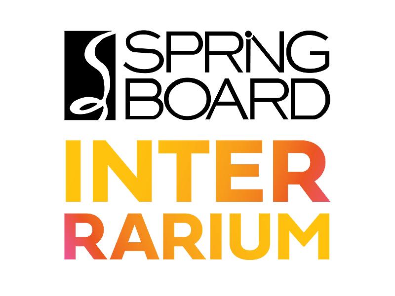 Springboard Interrarium logo and branding