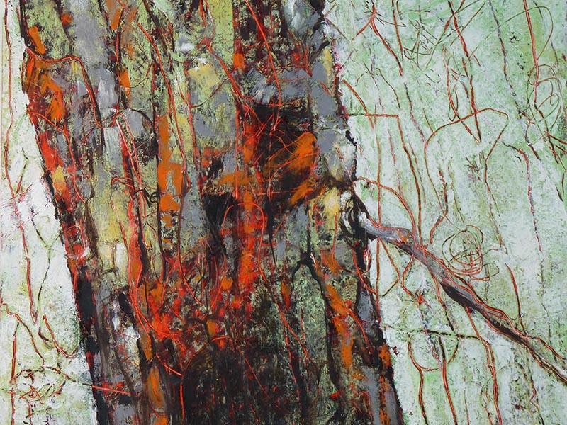 Teresa Posyniak's Colour floods every crack II