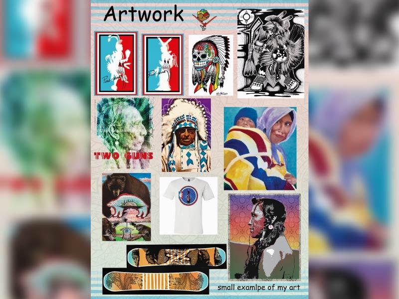Nathan P Meguini Artist Portfolio