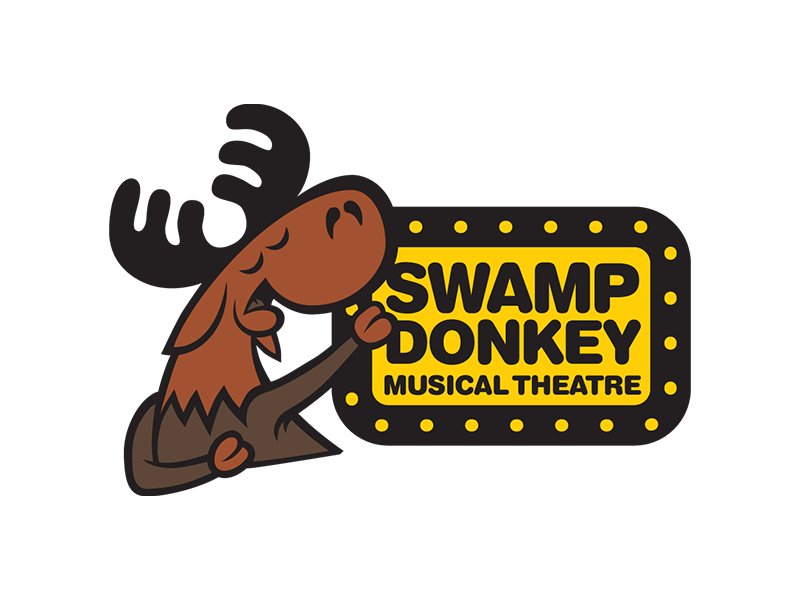 Swamp Donkey Musical Theatre Logo