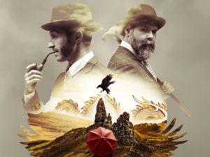 A graphic for Sherlock Holmes and The Raven's Curse at Vertigo Theatre
