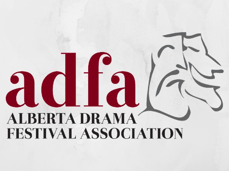 Alberta Drama Festival Association logo