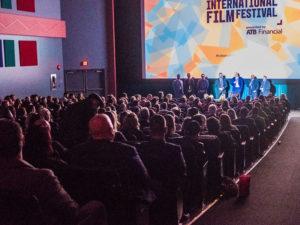 Calgary International Film Festival audience