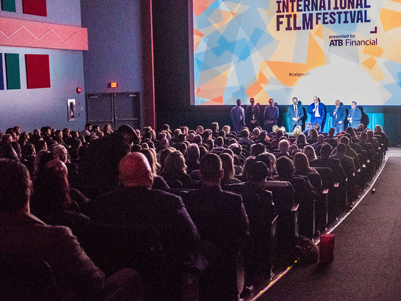 Calgary International Film Festival audience