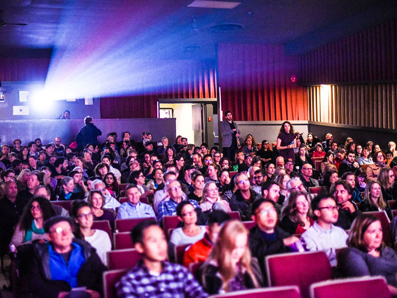 The audience at the Calgary International Film Festival