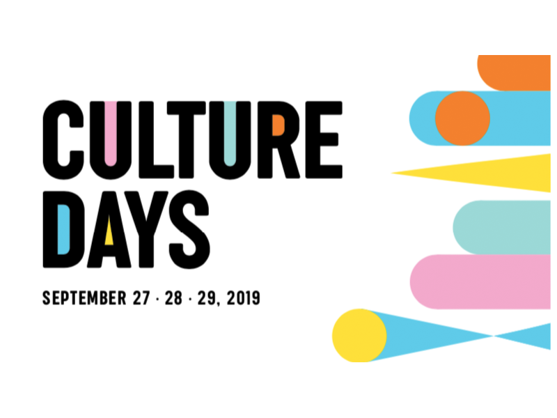 Branding for Culture Days 2019