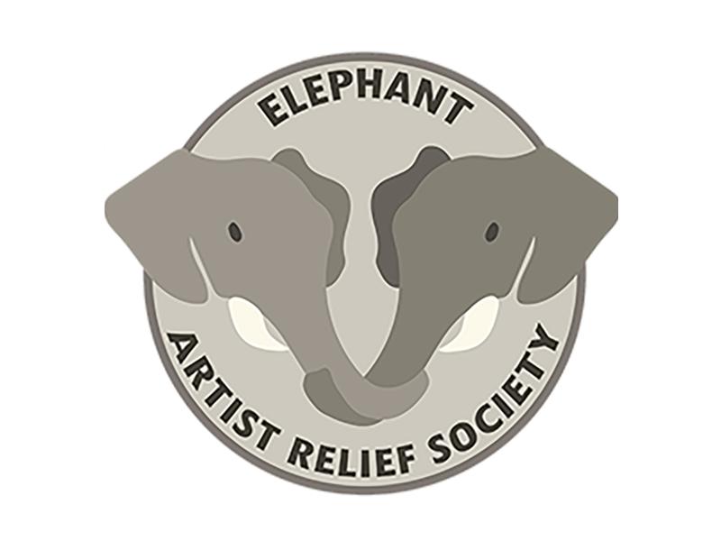 Elephant Artist Relief Society logo