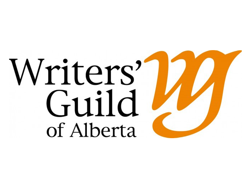 Writers' Guild of Alberta logo