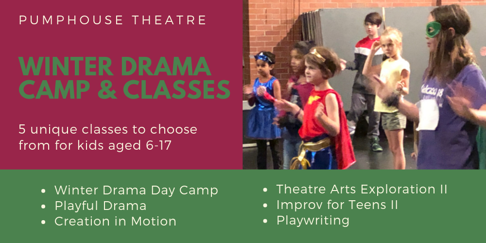 5 unique classes to choose from for kids aged 6–17
