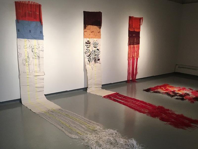 Diana Ohiozebau's Unravelling Identities on display