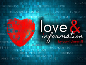 A graphic for Love and Information