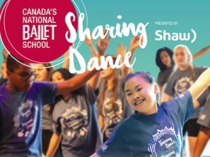 Canada's National Ballet School Sharing Dance Presented by Shaw