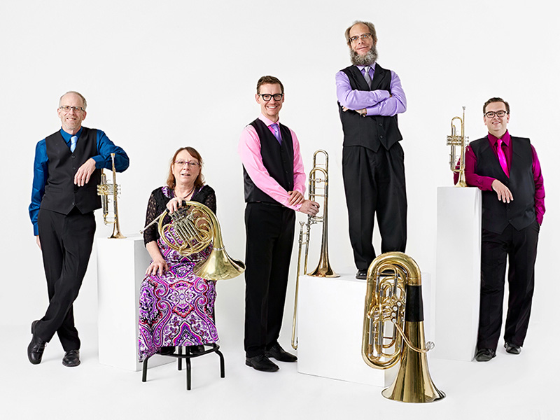 A photo of the Foothills Brass