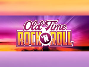 A graphic for Old Time Rock & Roll at Jubilations Dinner Theatre