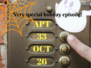 A graphic for APT 33 Halloween Special