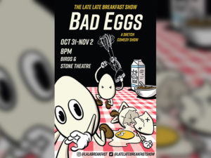 A poster for Bad Eggs