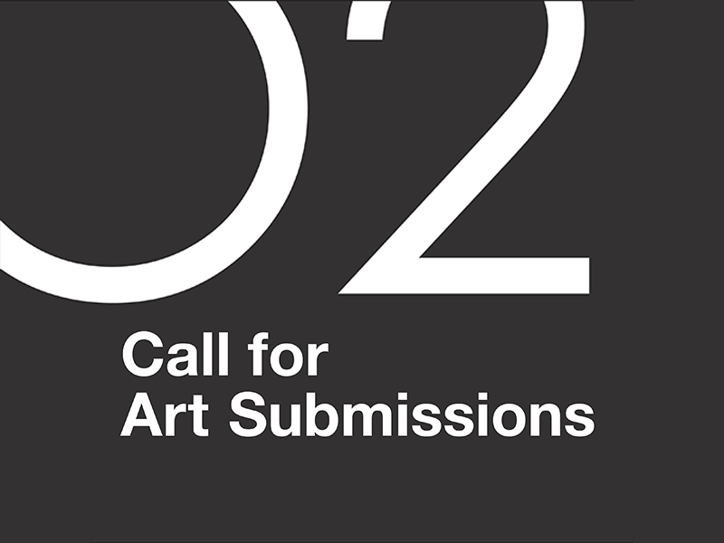 O2 Planning + Design Art Call for Submissions