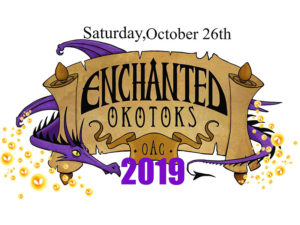 A graphic for Enchanted Okotoks