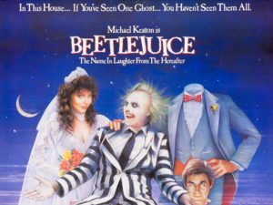 A poster for Beetlejuice