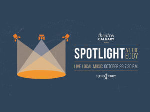 A graphic for Spotlight at the Eddy