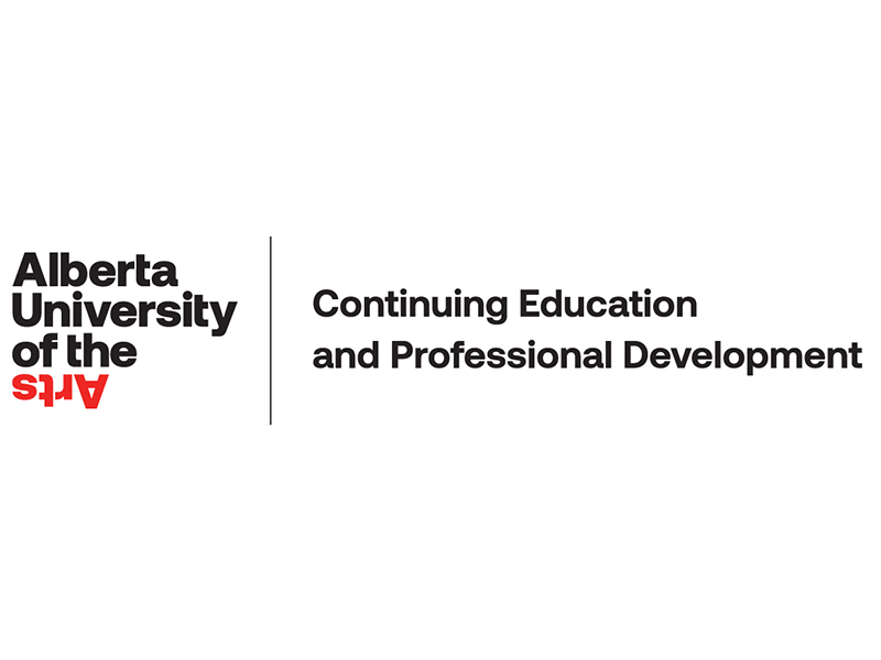 Alberta University of the Arts Continuing Education and Professional Development logo