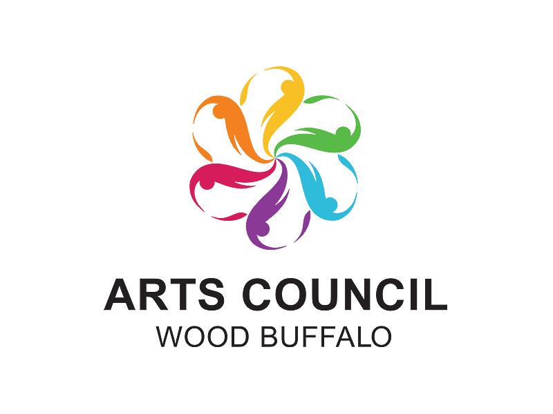 Arts Council Wood Buffalo logo