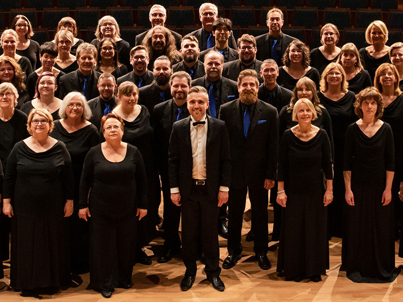 A cropped photo of the members of Mount Royal Kantorei