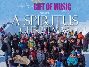 A poster for Spiritus Christmas