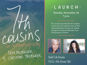 A graphic for the launch of 7th Cousins